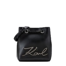 Kabelka Karl Lagerfeld K/Signature Leather Bucket