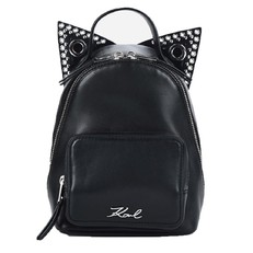 Kabelka batoh Karl Lagerfeld K/Rocky Choupette Leather Mini Backpack