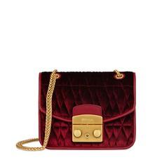 Kožená kabelka Furla Metropolis Mini Crossbody Cometa velvet rosso