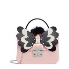 Kabelka Furla Candy Mini Crossbody Melita rosa chiaro/onyx
