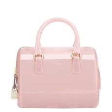 Kabelka Furla Candy Satchel S rosa chiaro