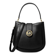 Kabelka Michael Kors Lillie Medium Leather Shoulder černá