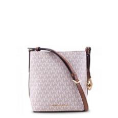 Kabelka Michael Kors Kimberly Small Bucket vanilla/luggage