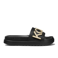 Obuv nazouváky Michael Kors Cortlandt Embellished Leather Slide