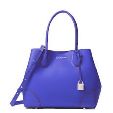 Kabelka Michael Kors Mercer Gallery Medium Leather Tote electric blue