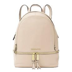 Kabelka Michael Kors Rhea Medium Leather Backpack oyster