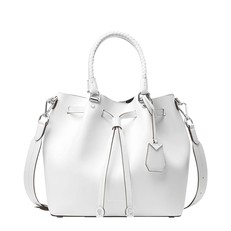 Kabelka Michael Kors Blakely Leather Bucket optic white