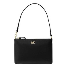 Kabelka Michael Kors Medium Leather Convertible Pouchette černá