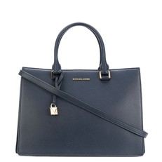 Kabelka Michael Kors Sutton Medium Gusset Satchel admiral