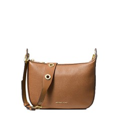 Kabelka Michael Kors Barlow Medium Pebbled Leather Messenger acorn