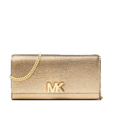 Kabelka Michael Kors Mott Metallic Leather Chain Wallet