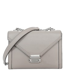 Kabelka Michael Kors Whitney Large Leather Convertible Shoulder pearl grey