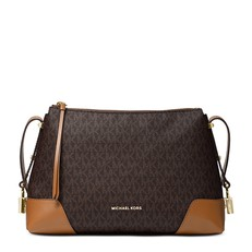 Kabelka Michael Kors Crosby Logo Messenger Shoulder brown/acorn