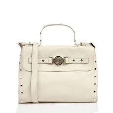 Kožená kabelka aktovka Liu Jo Siderite Medium Briefcase (vintage)
