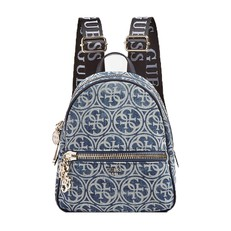 Kabelka Guess Urban Chic Logo Print Backpack denim