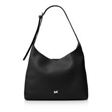 Kabelka Michael Kors Junie Medium Leather Shoulder černá
