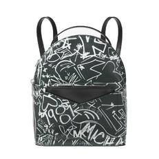 Kabelka batoh Michael Kors Jessa Small Graffiti Leather Convertible Backpack