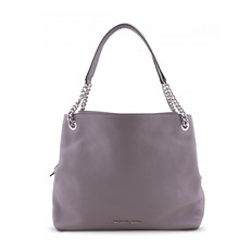Kabelka Michael Kors Jet Set Item Leather LG Chain Shoulder Tote ash grey
