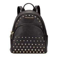 Kabelka Michael Kors Abbey Medium Stud Backpack černá