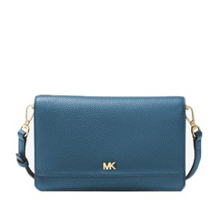 Kabelka Michael Kors Pebbled Leather Convertible Crossbody dark chambrey