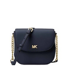 Kabelka Michael Kors Mott Leather Dome Crossbody admiral