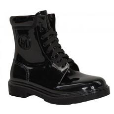 Boty kotníkové workery Armani Jeans černé