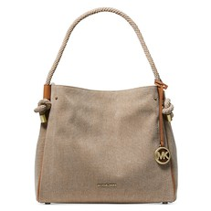 Kabelka Michael Kors Isla Large Canvas natural