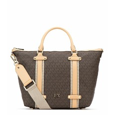 Kabelka Michael Kors Griffin Large Satchel brown