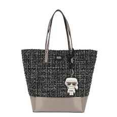 Kabelka Karl Lagerfeld Karl Space Tweed Shopper