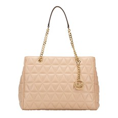 Kabelka Michael Kors Susannah Large Quilted Tote oyster