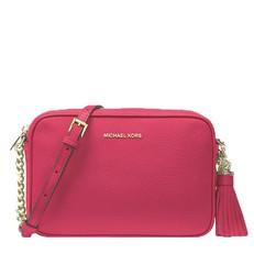 Kabelka Michael Kors Ginny Leather Crossbody rose pink