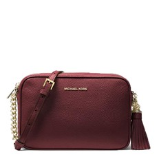 37a26652a Kabelka Michael Kors Alessa Large Pebbled Leather Satchel - Hanymany.cz