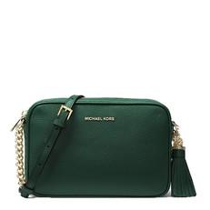 Kabelka Michael Kors Ginny Leather Crossbody racing green