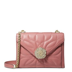 Kabelka Michael Kors Whitney Large Petal Quilted Leather Convertible Shoulder rose