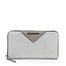 Peněženka Karl Lagerfeld K/Klasisik Silver Wallet