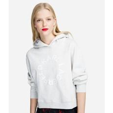 Mikina Karl Lagerfeld Karl Cropped Logo Hoodie