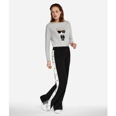 Kalhoty tepláky Karl Lagerfeld Wide Leg Logo Sweatpants
