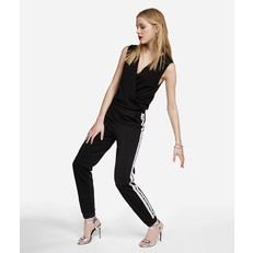 Overal Karl Lagerfeld Crepe Jersey Jumpsuit