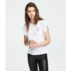 Tričko Karl Lagerfeld Karl Short Ruffle Sleeve T-Shirt