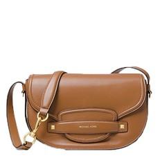 Kabelka Michael Kors Cary Medium Leather Saddle acorn
