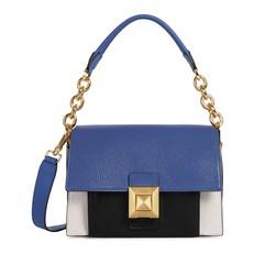 Kožená kabelka Furla Diva Mini Shoulder lino pervinca onyx