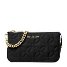 Kabelka Michael Kors Medium Floral Quilted Leather Chain Pouch