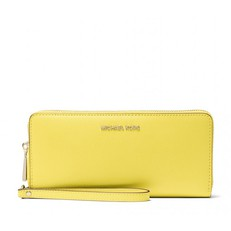 Peněženka Michael Kors Crossgrain Leather Continental Wristlet