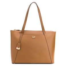 Kabelka Michael Kors Maddie Large Leather Tote acorn