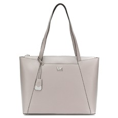 Kabelka Michael Kors Maddie Large Leather Tote pearl grey