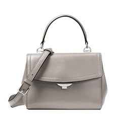 Kabelka Michael Kors Ava Extra-Small Leather Crossbody pearl grey
