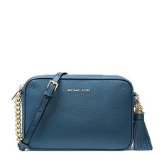 Kabelka Michael Kors Ginny Leather Crossbody denim