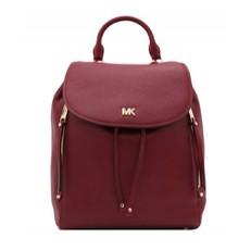Kabelka batoh Michael Kors Evie Medium Backpack maroon