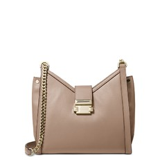 Kabelka Michael Kors Whitney Small Leather Shoulder truffle