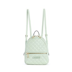 Kabelka batoh Guess Elliana Quilted Backpack mint